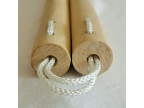 Drevené nunchaku bukové