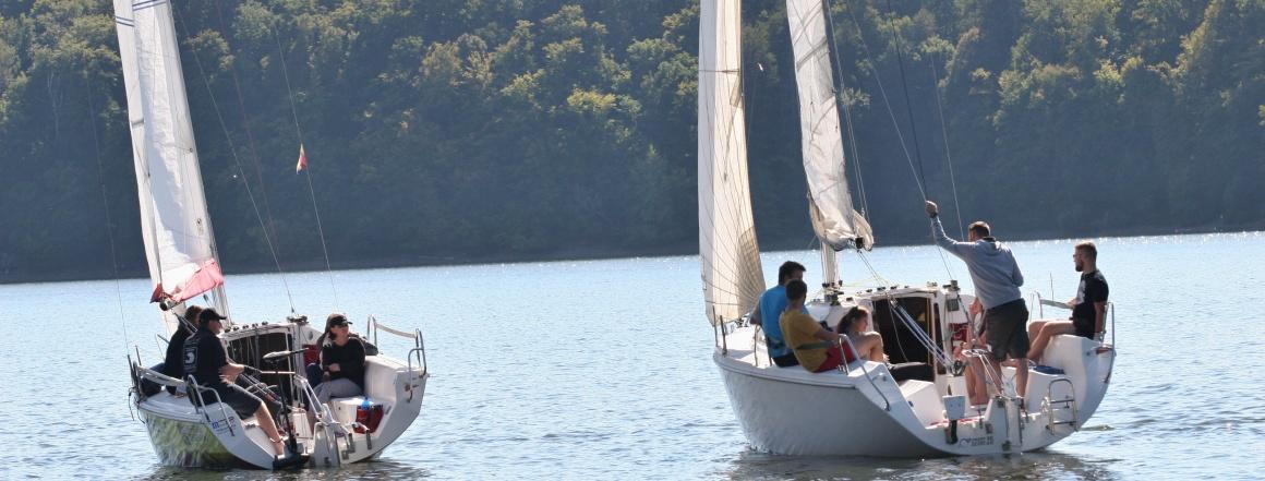 Kajutová plachetnice Vranovská přehrada