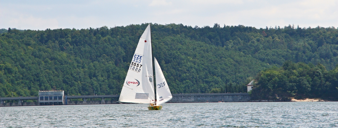Yachting na Vranově
