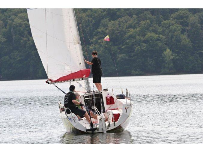 Plavba na sportovní plachetnici