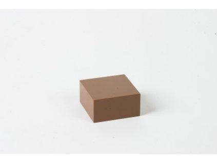 Arithmetic Trinomial Cube: Brown Prism - 2 x 4 x 4