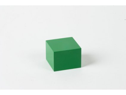 Arithmetic Trinomial Cube: Light Green Prism - 3 x 4 x 4