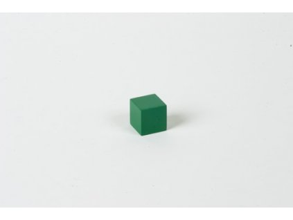 Cubing Material: Green Cube - 2 x 2 x 2