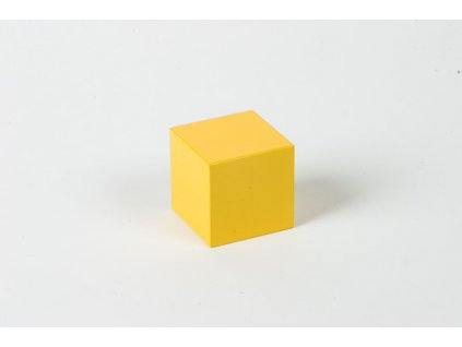 Cubing Material: Yellow Cube - 4 x 4 x 4