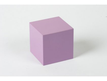 Cubing Material: Purple Cube - 6 x 6 x 6
