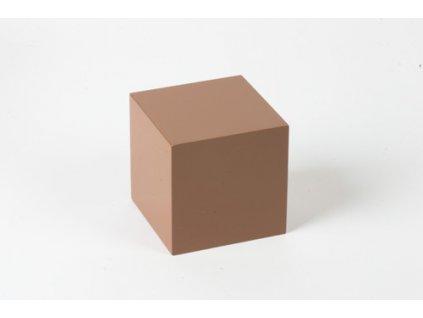 Cubing Material: Brown Cube - 8 x 8 x 8