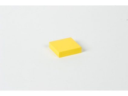 Cubing Material: Yellow Square - 4 x 4 x 1