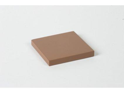 Cubing Material: Brown Square - 8 x 8 x 1