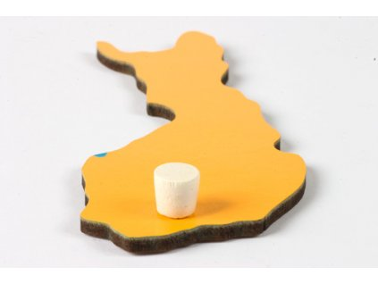 Puzzle Piece Of Europe: Finland