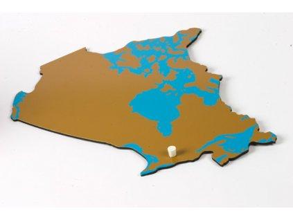 Puzzle Piece Of North America: Canada