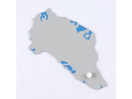Puzzle Piece Of North America: Greenland