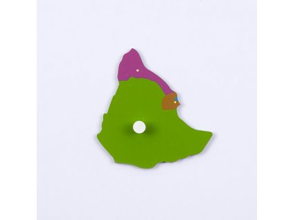 Puzzle Piece Of Africa: Ethopia/Djibouti