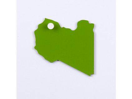 Puzzle Piece Of Africa: Libya