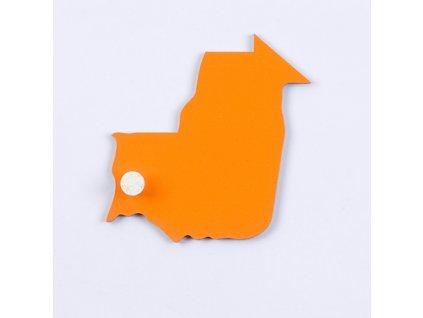 Puzzle Piece Of Africa: Mauritania