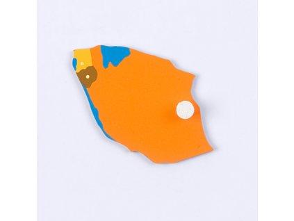 Puzzle Piece Of Africa: Tanzania/Burundi/Rwanda