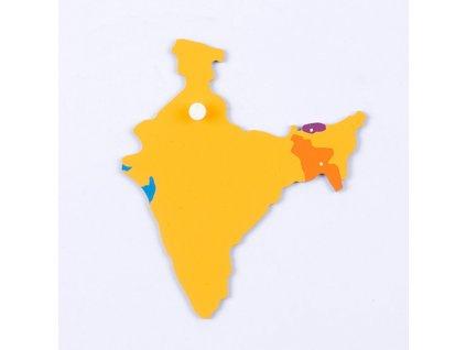 Puzzle Piece Of Asia: India/Bangladesh/Bhuta