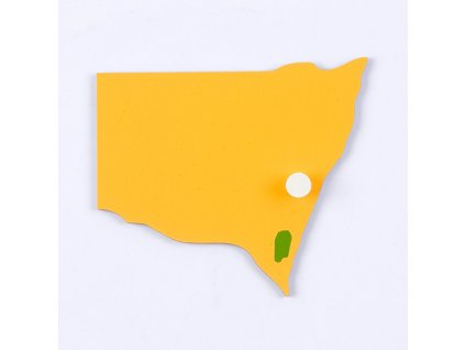 Puzzle Piece Of Australia: New South Wales