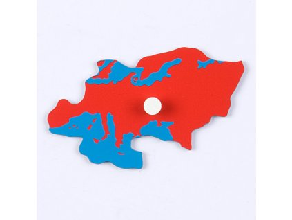 Puzzle Piece Of World Parts: Europe