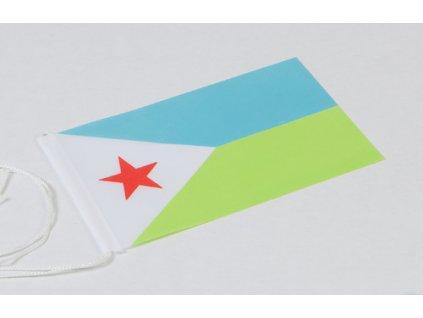 Flag: Djibouti
