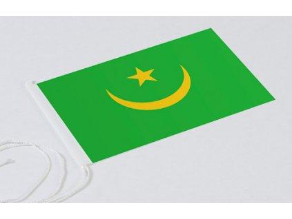 Flag: Mauritania