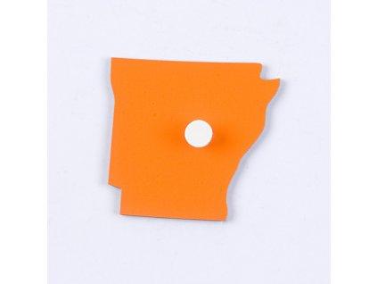 Puzzle Piece Of USA: Arkansas