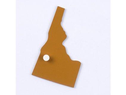 Puzzle Piece Of USA: Idaho