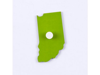 Puzzle Piece Of USA: Indiana