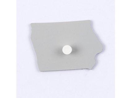 Puzzle Piece Of USA: Iowa