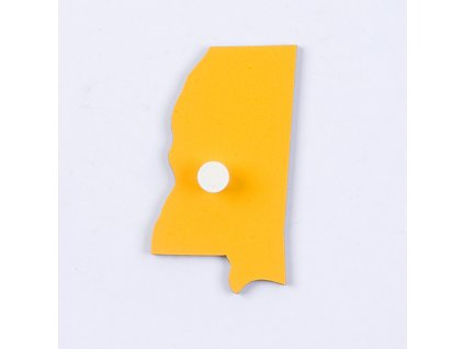 Puzzle Piece Of USA: Mississippi