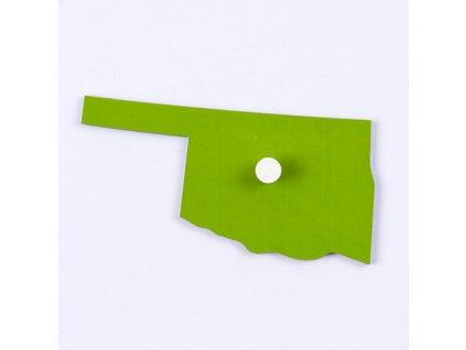 Puzzle Piece Of USA: Oklahoma