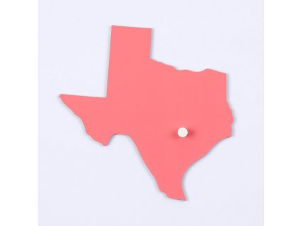 Puzzle Piece Of USA: Texas