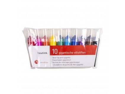 Heutink Gigantjes fixy - 10 barev