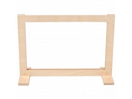 Náhradní dřevěný rám (vhodný pro 523246 a 523245)