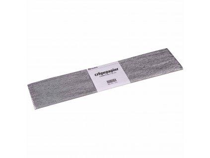 Krepový papír Floriade - stříbrný