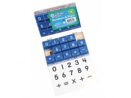 """READY2LEARN™ 1"""" čísla a symboly"""