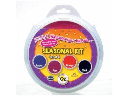 READY2LEARN™ Sezónní sada – růžová, oranžová, fialová, černá