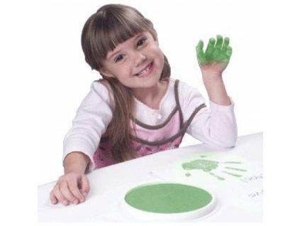 READY2LEARN™ Kulatá podložka omyvatelná zelená
