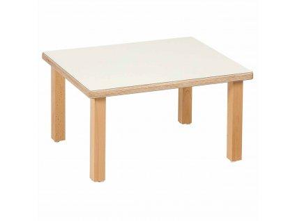 Stůl pro nejmenší - malý obdélník  (55,5 x 45,5 x 31 cm)