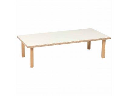 Stůl pro nejmenší - velký obdélník  (118 x 59 x 31 cm)