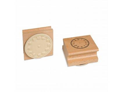 Razítko s hodinami - římské číslice
