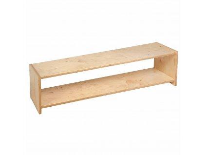Infant / Toddler Shelf: 1-Tier (121.5 x 30 x 32.5 cm)
