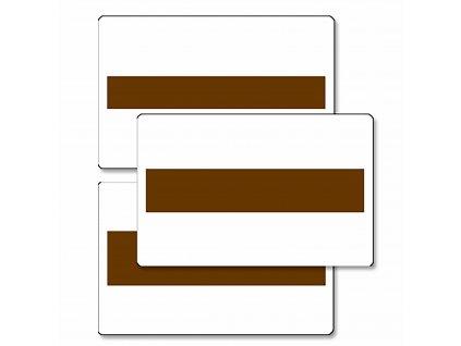 Karty se základnami pro Hnědé schody