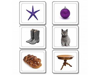 Obrázkové karty k Barevným destičkám 2