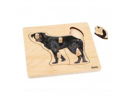 Puzzle pro nejmenší: pes