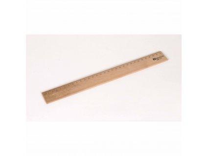 Dřevěné pravítko 30 cm