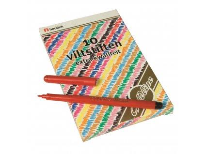 Felt tip pens Goldline 10 colours assorted