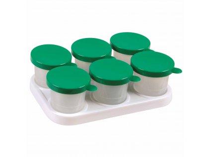 Paint pot display square incl. 3 x 2 non-spill paint pots 320 ml