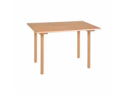 Stůl - B2 fialový (70x50x53 cm)