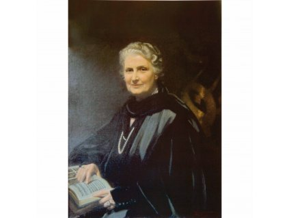 Plakát Marie Montessori, velikost 28 x 35,5 cm