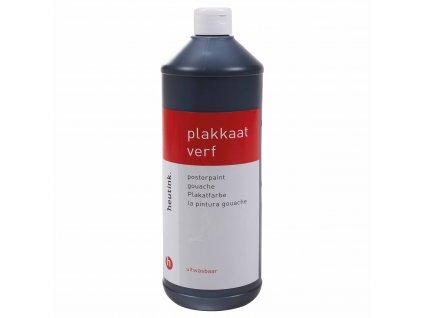 Barva Interpaint - černá, 1l